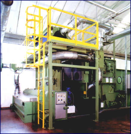 Technical features of the machine: - Mecatex Srl